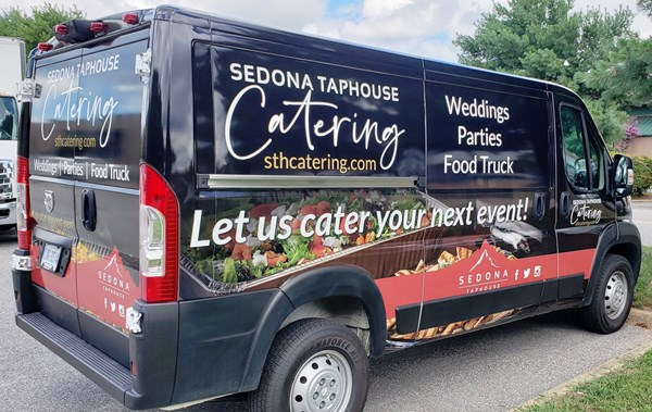 Full Vehicle Wrap for Sedona Tap House