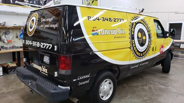 Full Vehicle Wrap | It was a white van - Now a Rolling Billboard!